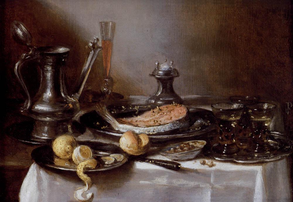 A Still Life With A Jan-Steen Jug :: Pieter Claesz - Still Lifes ôîòî