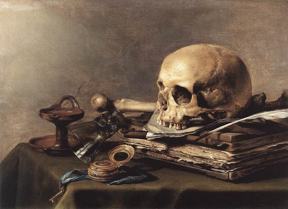 Vanitas Still Life :: Pieter Claesz - Still Lifes ôîòî