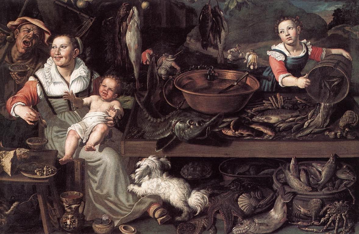 Fishmongers :: Vincenzo Campi  - Still Lifes ôîòî