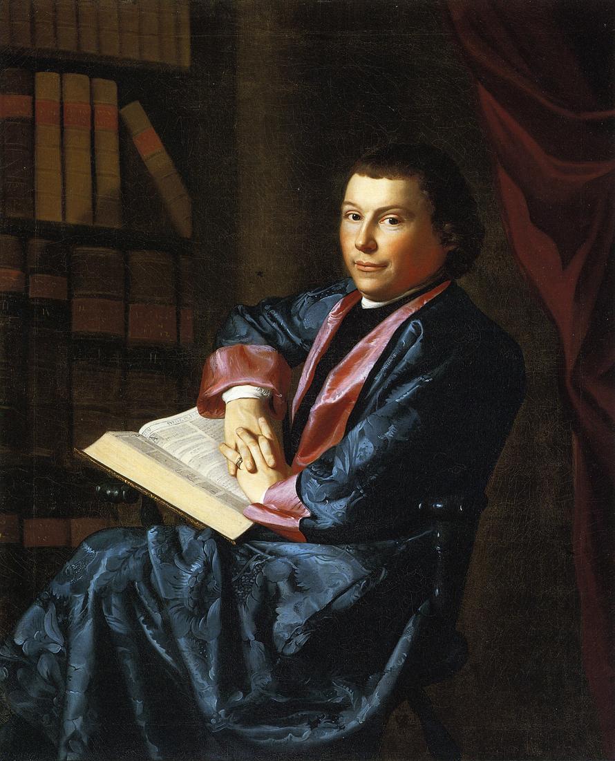 Reverend Thomas Cary :: John Singleton Copley - men's portraits 18th century ôîòî