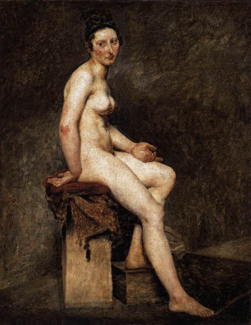 Mlle Rose :: Eugиne Delacroix - Nu in art and painting ôîòî