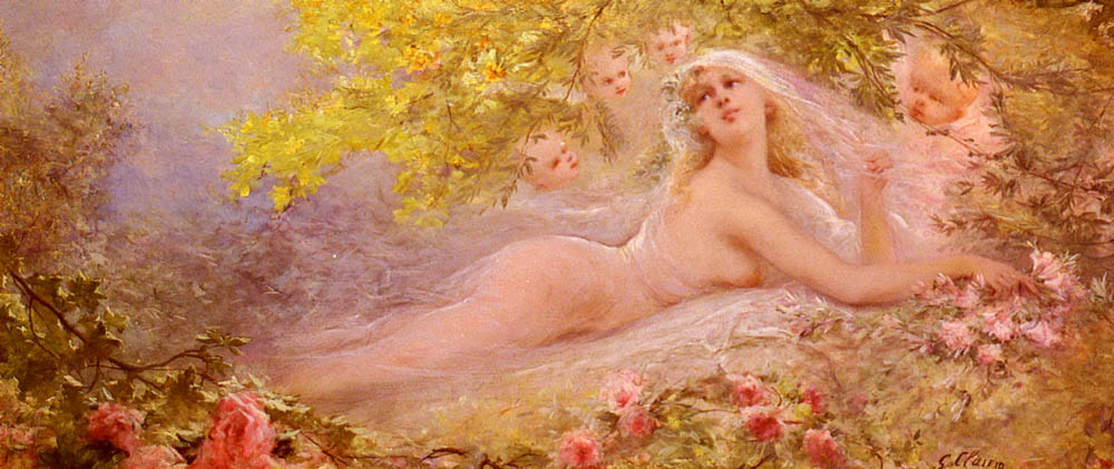 A Bride s Fantasy :: Georges Jules Victor Clairin - Nu in art and painting ôîòî