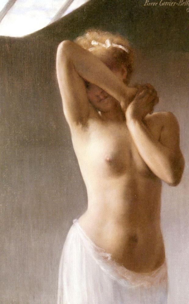 La Premiere Pose :: Pierre Carrier-Belleuse - Nu in art and painting ôîòî
