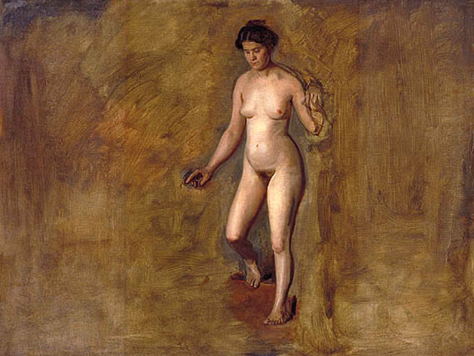 William Rush's Model :: Thomas Eakins - Nu in art and painting ôîòî