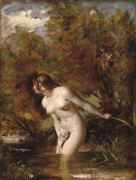 Musidora (The Bather) :: William Etty - Nu in art and painting ôîòî