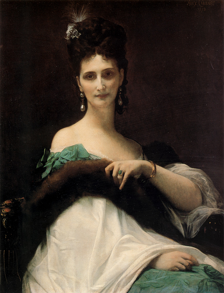 The countess de Keller :: Alexandre Cabanel  - 7 female portraits ( the end of 19 centuries ) in art and painting ôîòî
