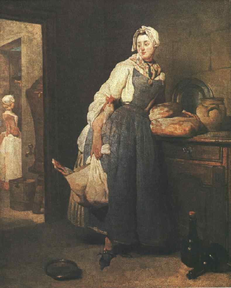 Return from the Market :: Jean-Baptiste-Simeon Chardin - Still Lifes ôîòî
