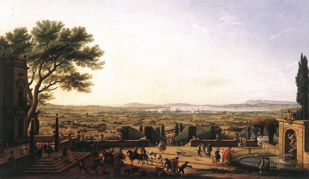 The Town and Harbour of Toulon :: Claude-Joseph Vernet - France ôîòî
