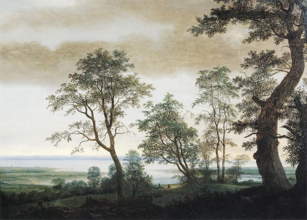Landscape with Estuary :: Cornelis Vroom the younger - River landscapes ôîòî