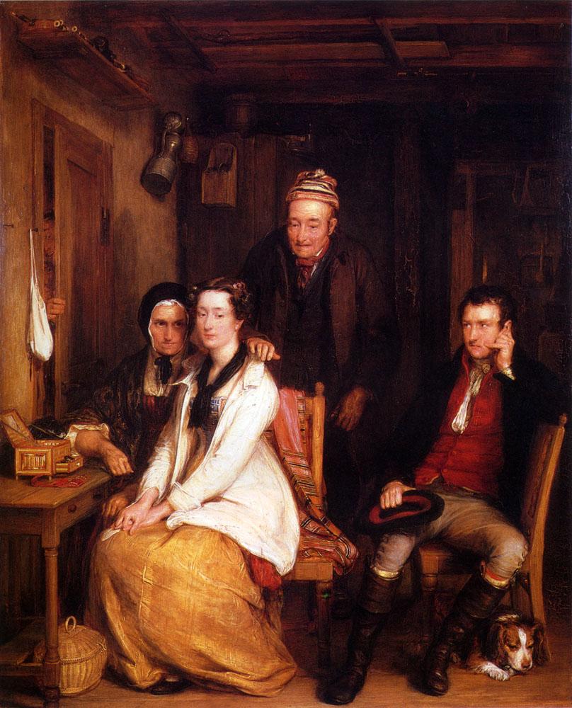 The Refusal From Burn's :: David Wilkie - Family Portrait ôîòî