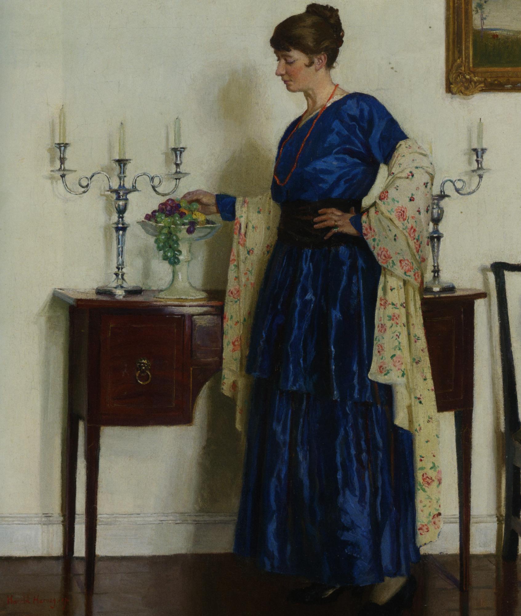 Portrait of the artists wife :: Harold Harvey - 8 female portraits hall ôîòî