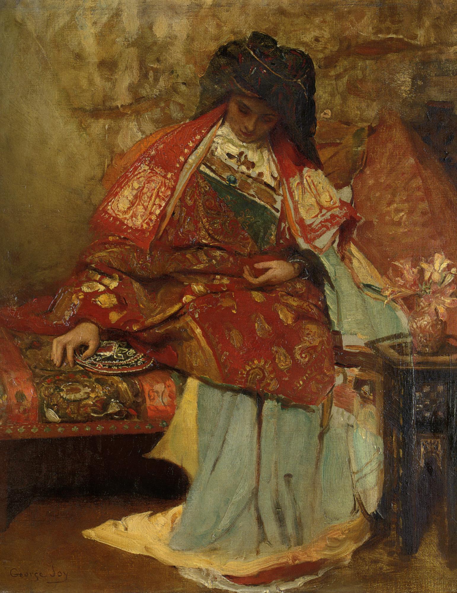 Eastern Girl :: George William Joy  - 8 female portraits hall ôîòî