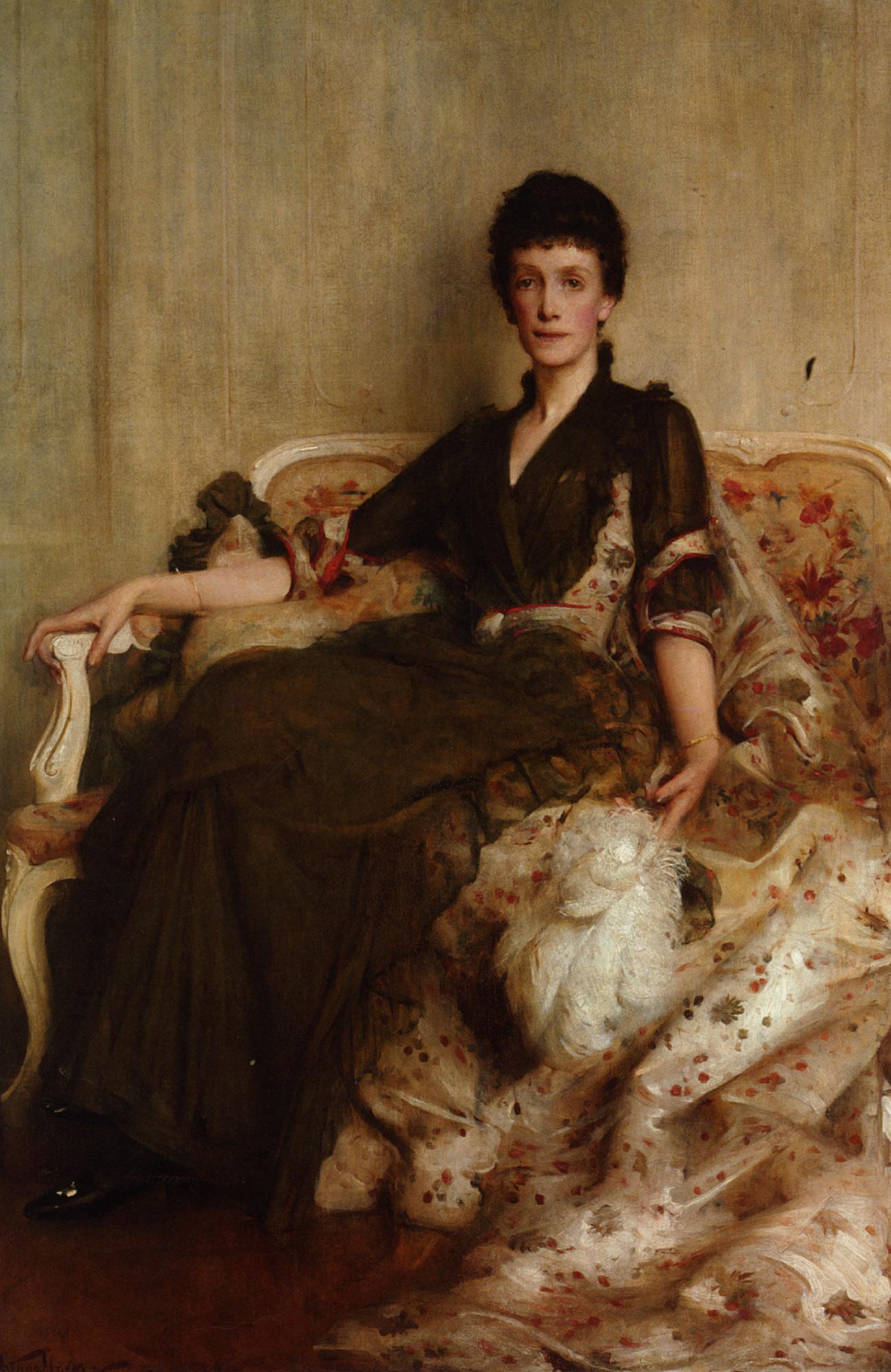 Mrs R E Moare :: Arthur Hacker - 7 female portraits ( the end of 19 centuries ) in art and painting ôîòî