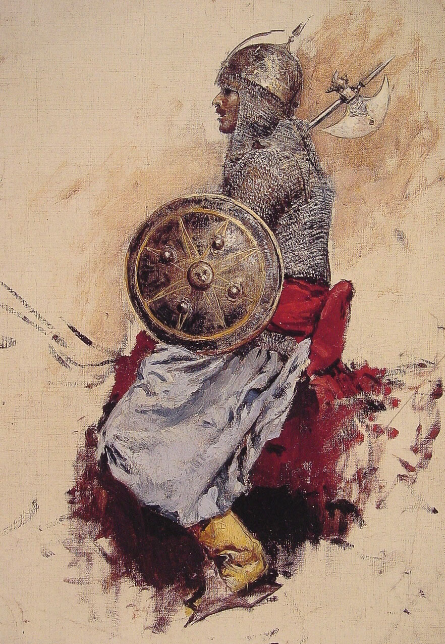 Man in Armour :: Edwin Lord Weeks - History painting ôîòî