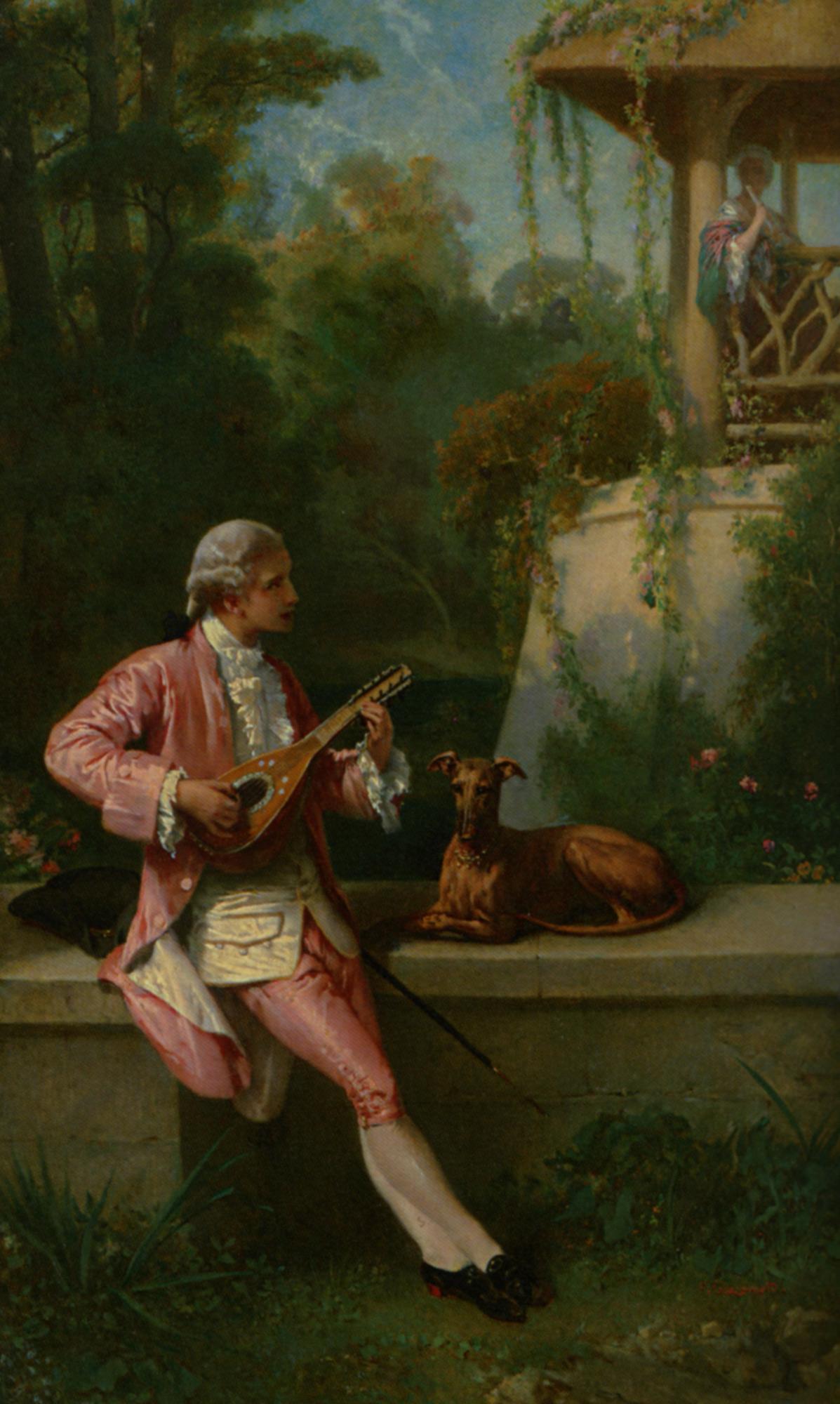 The Courtship :: Felix Henry Giacomotti - Picnic ôîòî