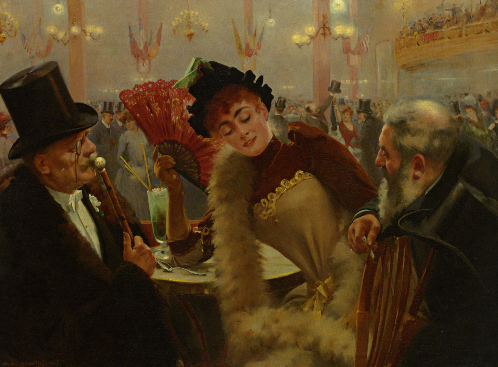 Susanna and the Old Gentlemen  :: Pierre Andre Brouillet - Balls and receptions ôîòî