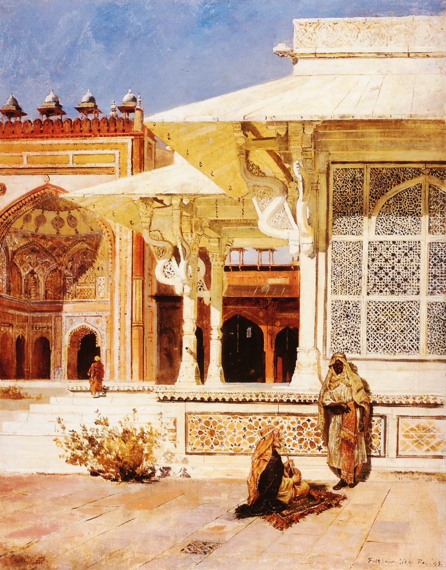 White Marble Tomb at Suittitor, Skiri :: Edwin Lord Weeks - Oriental architecture ôîòî