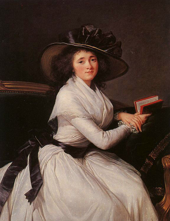 Countess Chatre :: Elisabeth Louise Vigee-Le Brun - 4 women's portraits 18th century hall ôîòî