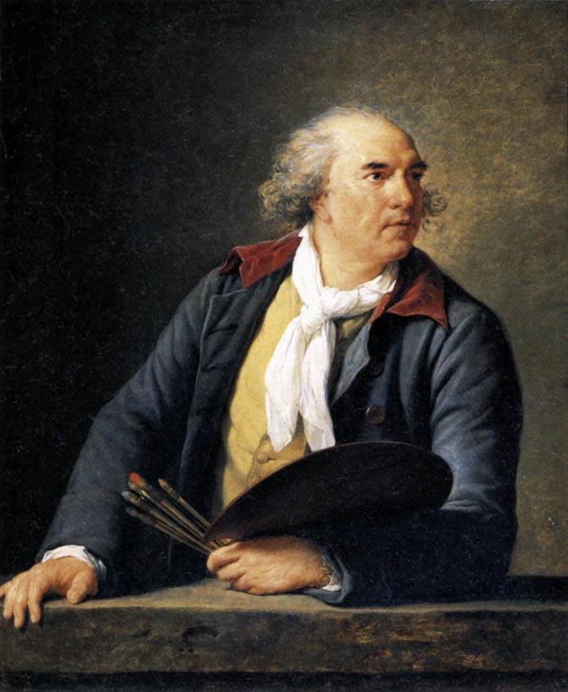 Hubert Robert, Artist :: Elisabeth Louise Vigee-Le Brun - men's portraits 19th century (first half) ôîòî