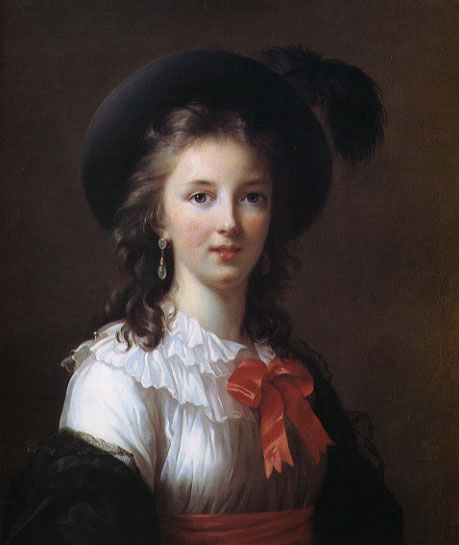 Self Portrait - age 26 :: Elisabeth Louise Vigee-Le Brun - Young beauties portraits in art and painting ôîòî