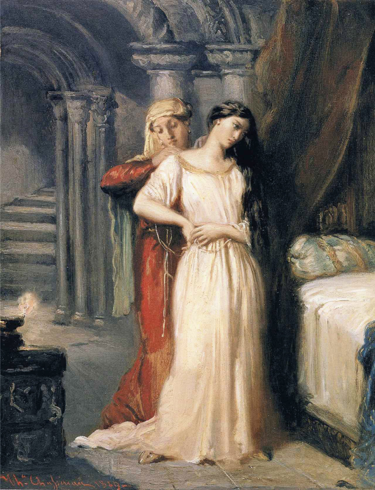 Desdemona :: Theodore Chasseriau - mythology and poetry ôîòî