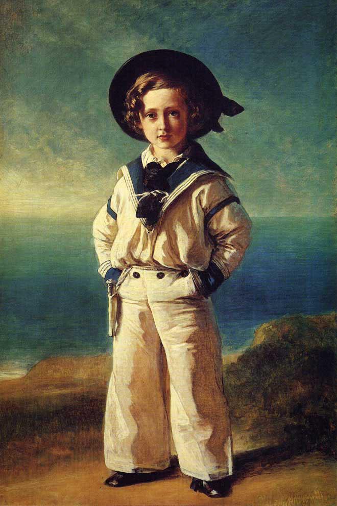 Albert Edward, Prince of Wales :: Franz Xavier Winterhalter - Portraits of young boys ôîòî
