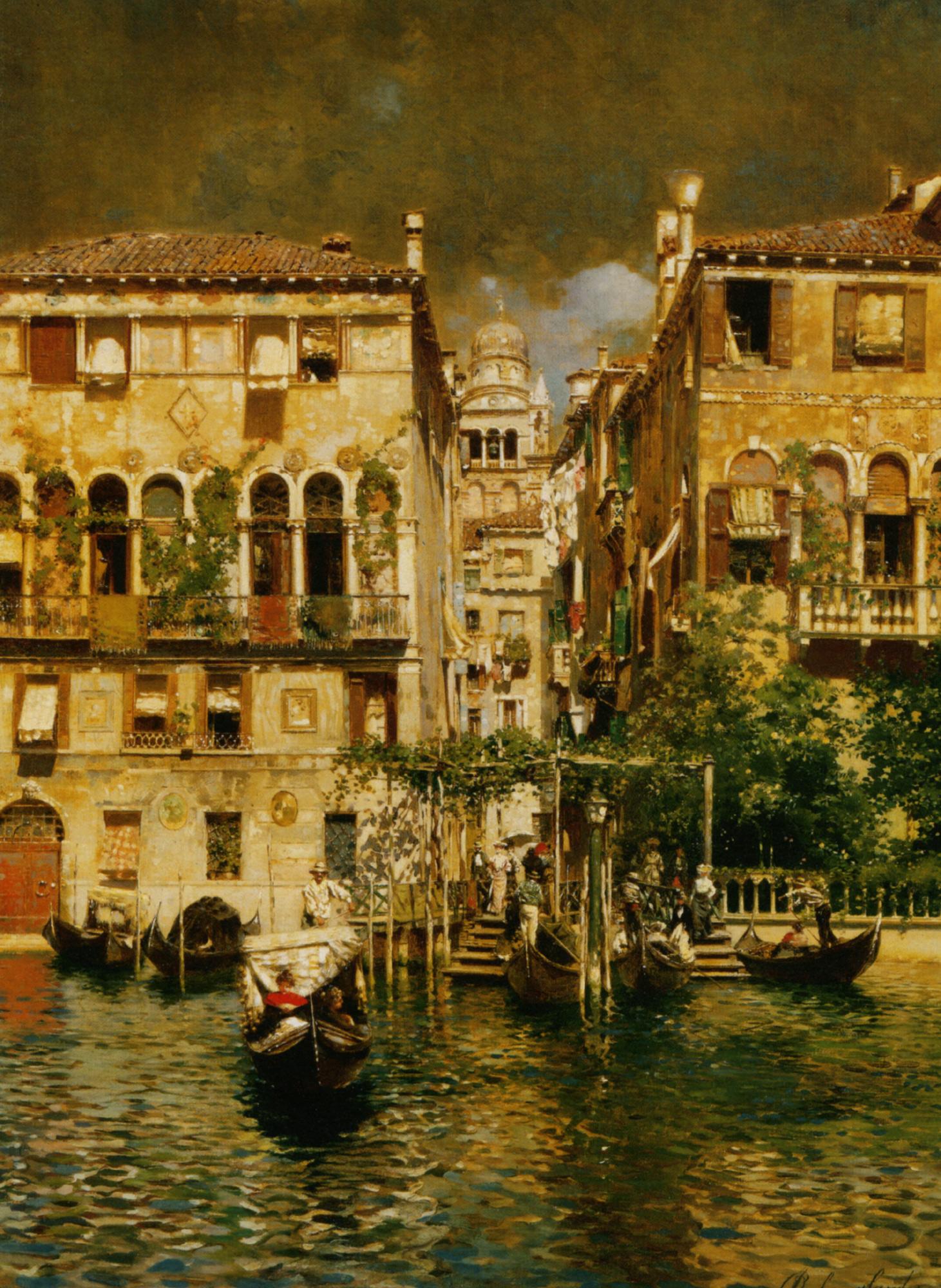 Leaving a Residence on the Grand Canal :: Rubens Santoro - Venice ôîòî