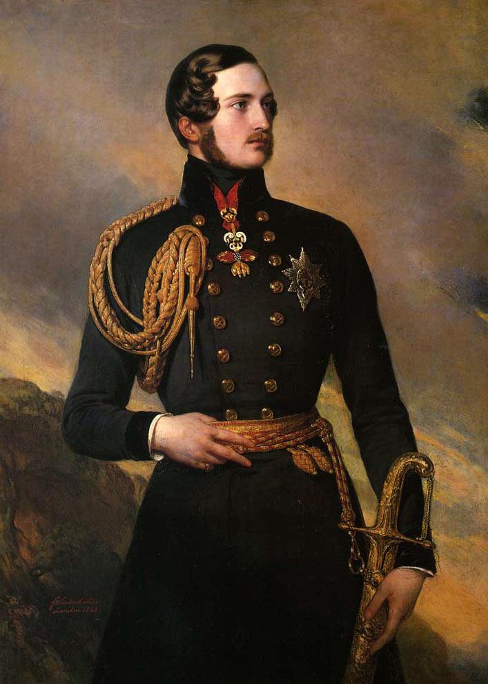 Prince Albert :: Franz Xavier Winterhalter  - men's portraits 19th century (second half) ôîòî