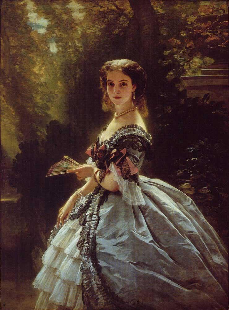 Princess Elizabeth Esperovna Belosselsky-Belosenky, Princess Troubetskoi :: Franz Xavier Winterhalter - 6 woman's portraits hall ( The middle of 19 centuries ) in art and painting ôîòî