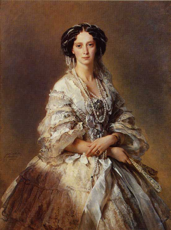 The Empress Maria Alexandrovna of Russia :: Franz Xavier Winterhalter - 6 woman's portraits hall ( The middle of 19 centuries ) in art and painting ôîòî