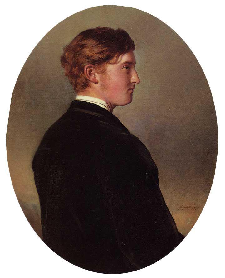William Douglas Hamilton, 12th Duke of Hamilton :: Franz Xavier Winterhalter - men's portraits 19th century (second half) ôîòî