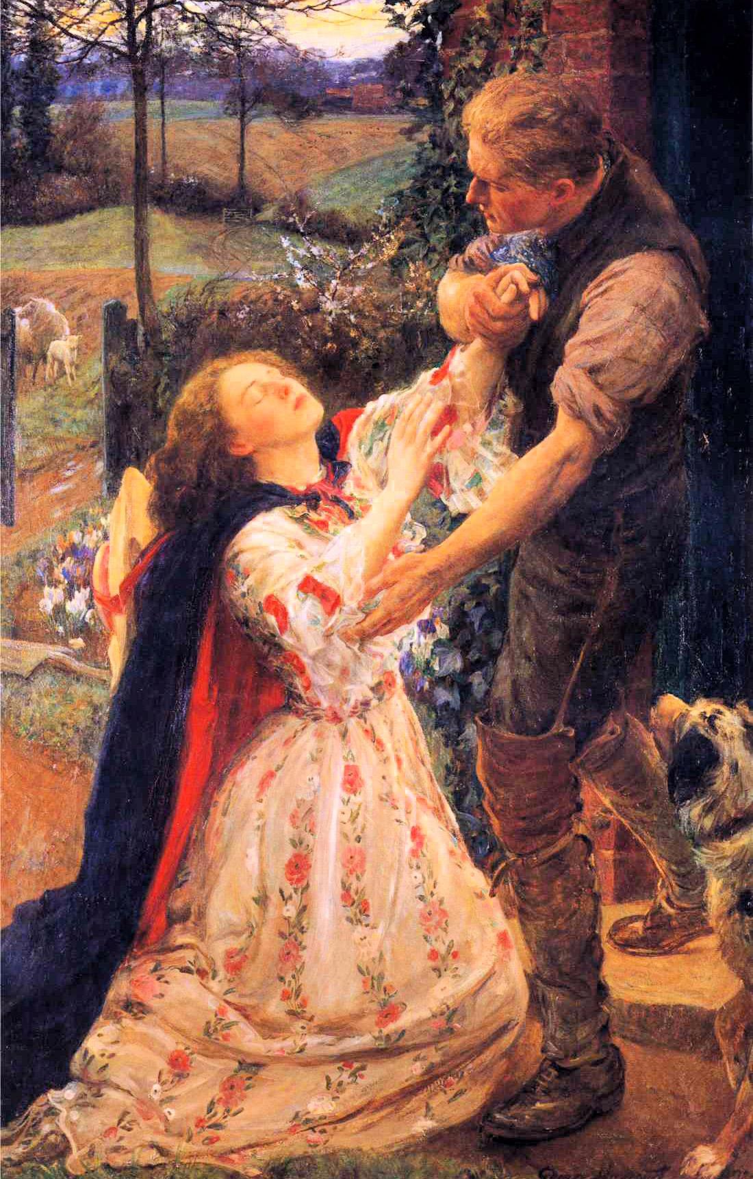 Forgiven :: George Harcourt - Romantic scenes in art and painting ôîòî