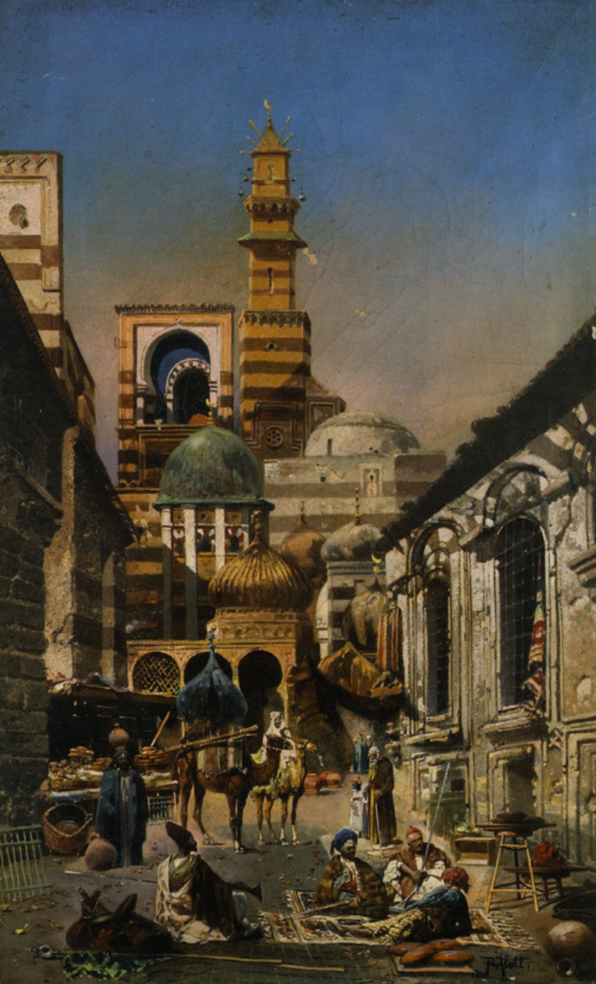 Old Cairo :: Robert Alott - Oriental architecture ôîòî