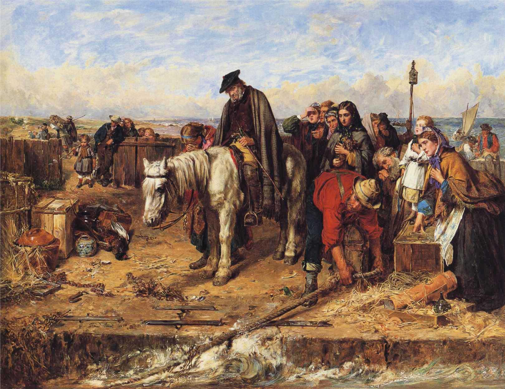 The Last of the Clan :: Thomas Faed - History painting ôîòî