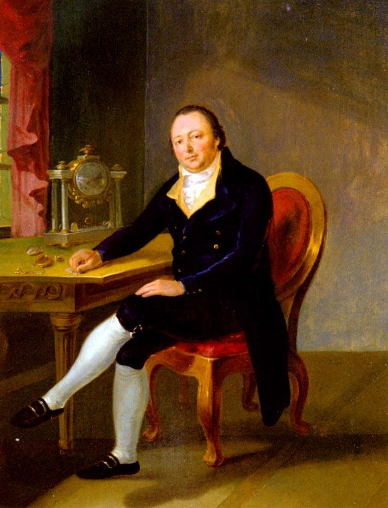 the Watchmaker :: Georg Volmar - men's portraits 18th century ôîòî