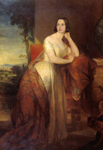 Augusta, Lady Castletown :: George Frederick Watts - 6 woman's portraits hall ( The middle of 19 centuries ) in art and painting ôîòî