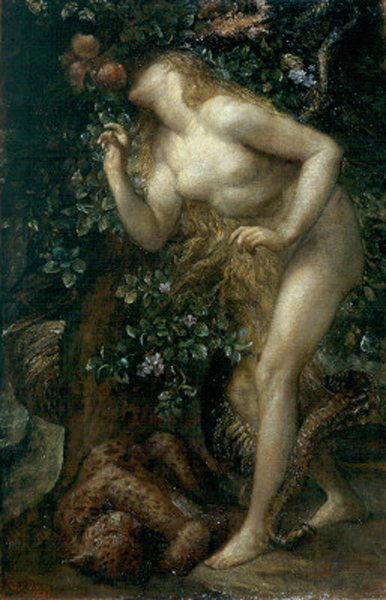 Eve Tempted :: George Frederick Watts - Bible scenes in art and painting ôîòî