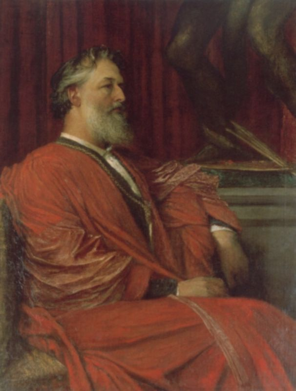 Frederic Lord Leighton, PRA :: George Frederick Watts - men's portraits 19th century (second half) ôîòî