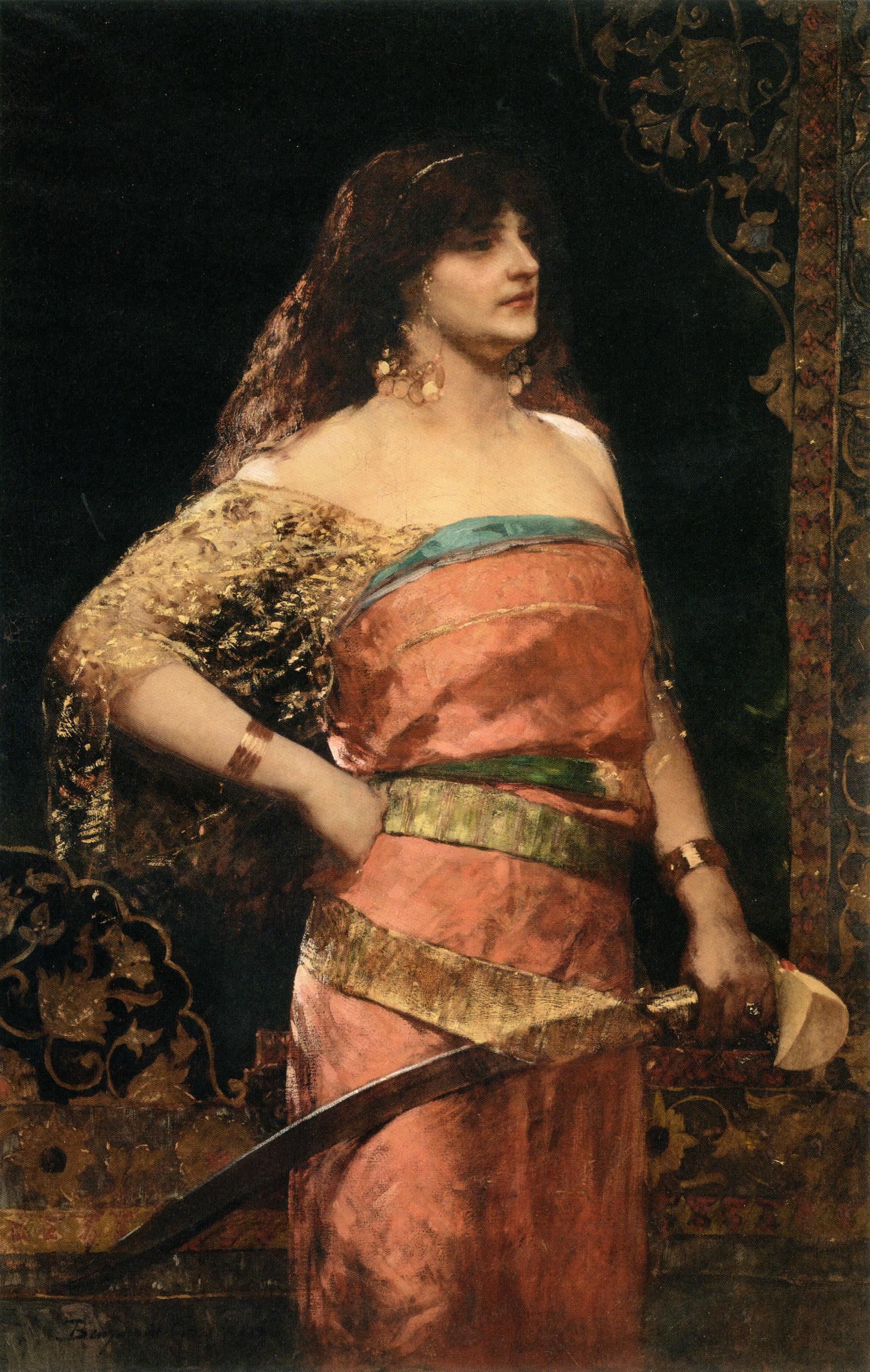 Judith :: Benjamin Jean Joseph Constant - Bible scenes in art and painting ôîòî