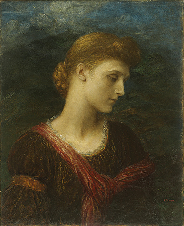 Violet Lindsay :: George Frederick Watts - 7 female portraits ( the end of 19 centuries ) in art and painting ôîòî