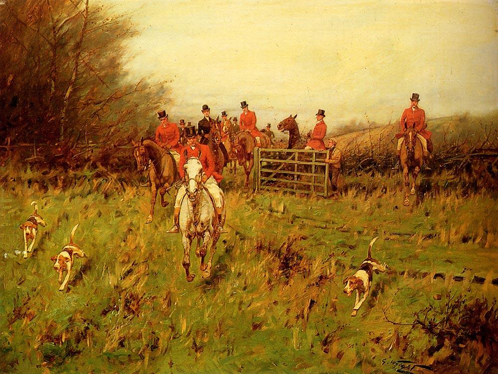 The Hunt :: George Wright - Hunting scenes ôîòî