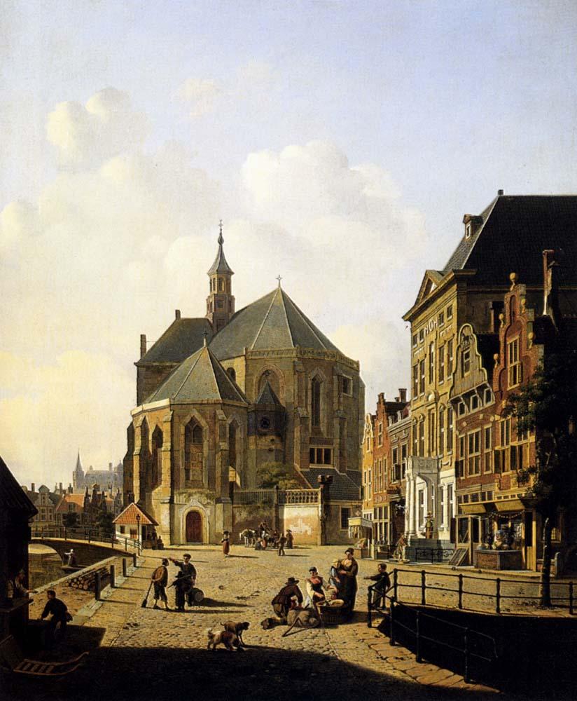 A Capricio View In A Town :: Jan Hendrik Verheijen - Architecture ôîòî