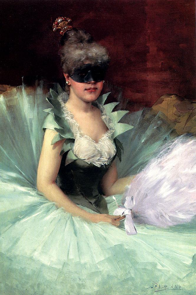 The Masked Beauty :: John Harrison Witt - Balls and receptions ôîòî