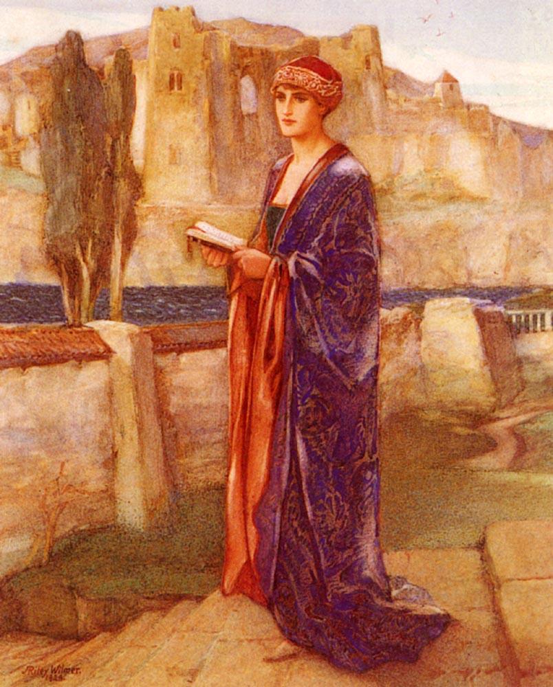 Constance In Captivity :: John Riley Wilmer - mythology and poetry ôîòî