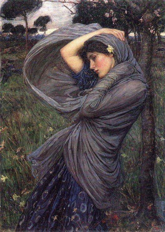 Boreas :: John William Waterhouse - Antique beauties in art and painting ôîòî