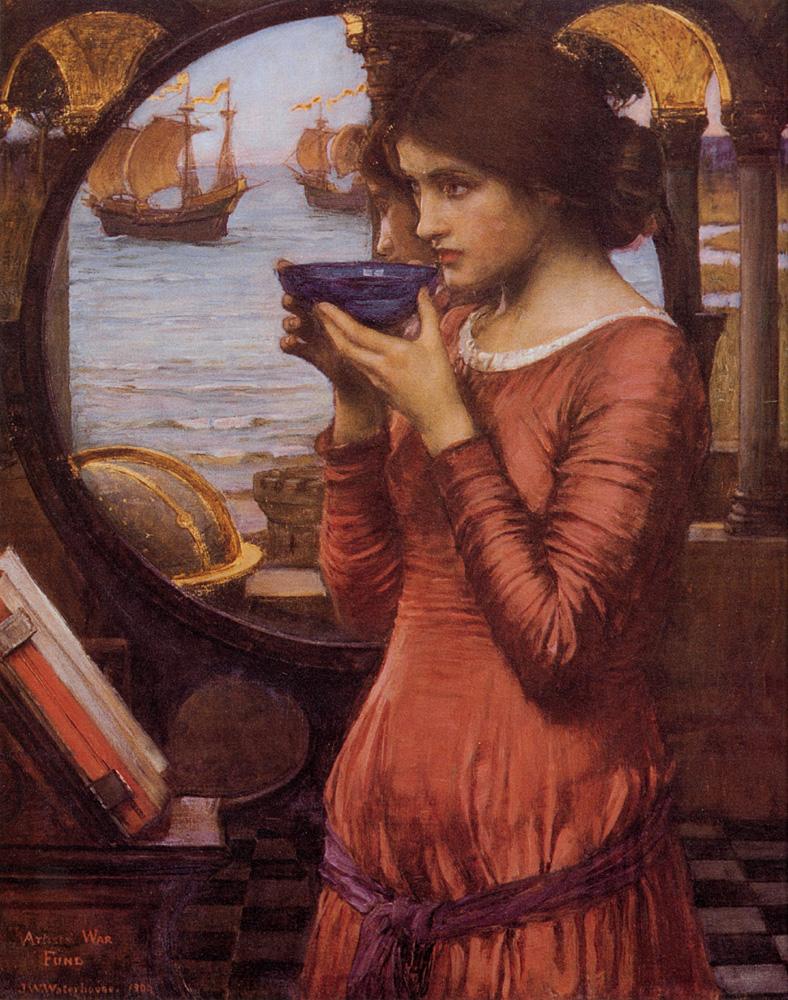 Destiny :: John William Waterhouse - Antique beauties in art and painting ôîòî