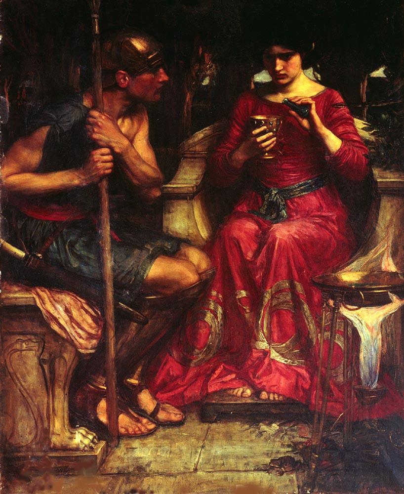 Jason and Medea :: John William Waterhouse - mythology and poetry ôîòî