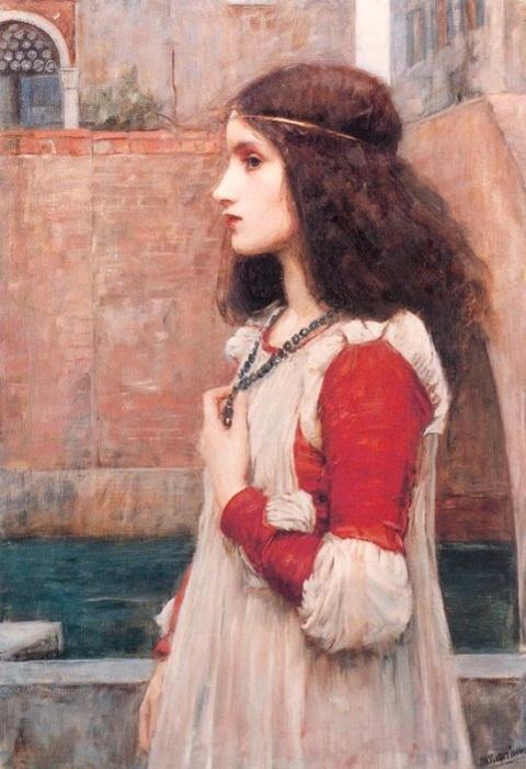 Juliet :: John William Waterhouse - mythology and poetry ôîòî