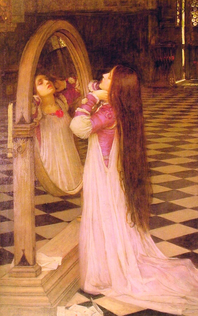 Mariana in the South :: John William Waterhouse - mythology and poetry ôîòî