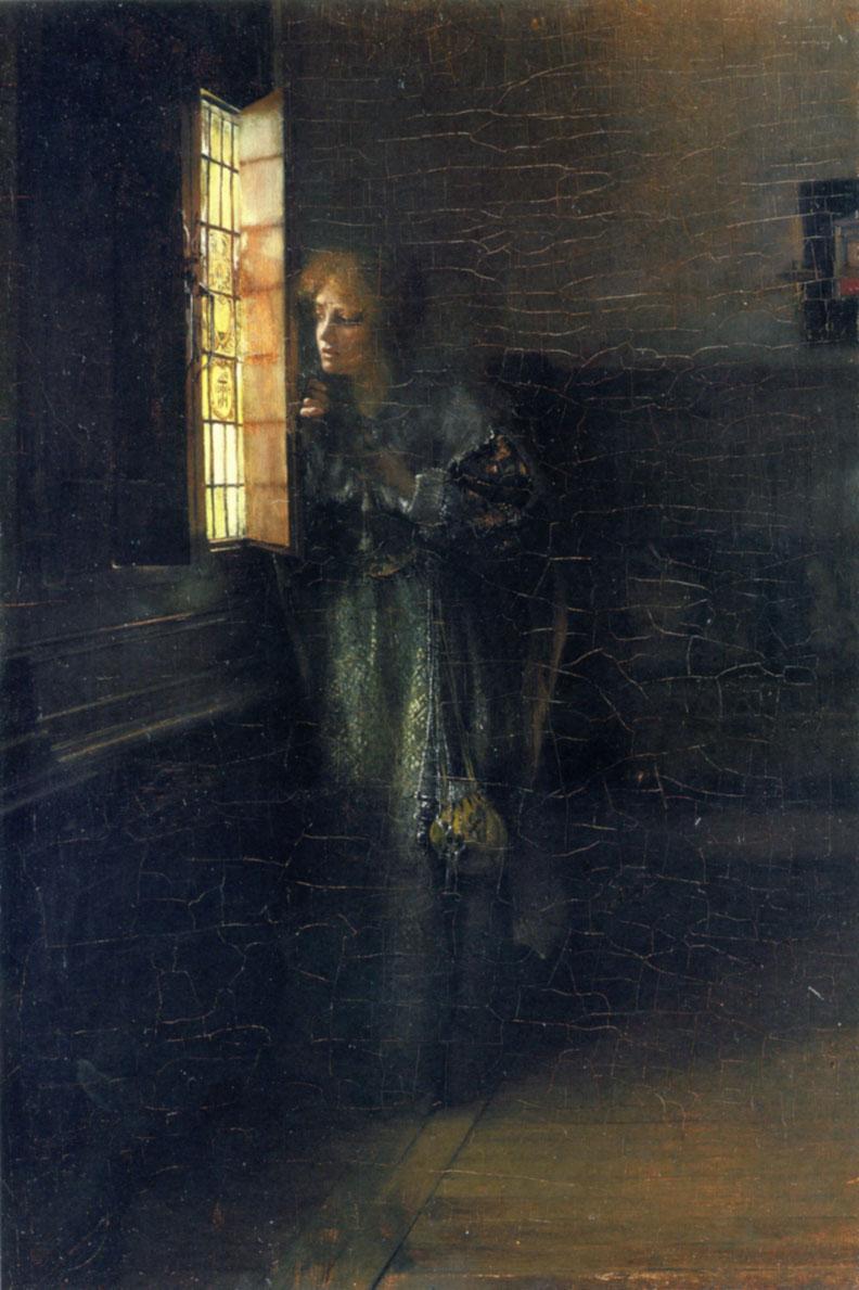 Love's Curse :: Lady Laura Teresa Alma-Tadema - Interiors in art and painting ôîòî